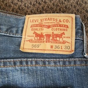 LEVI'S * MEN'S * 569 LOOSE STRAIGHT JEANS * 36X30